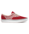 Vans Comfycush Tear Check Era in Red