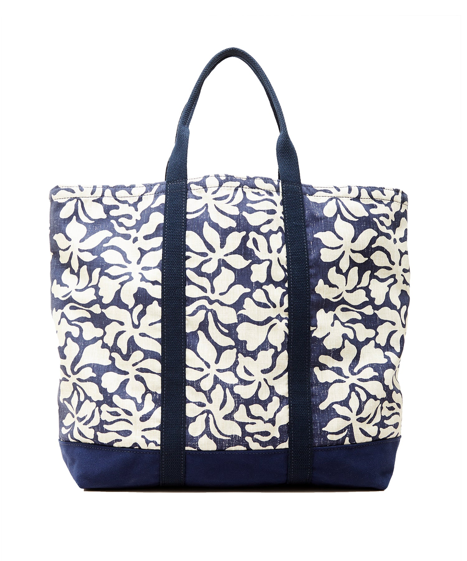 Exclusive Reyn Spooner + Todd Snyder Windjammer Tote Bag in Navy