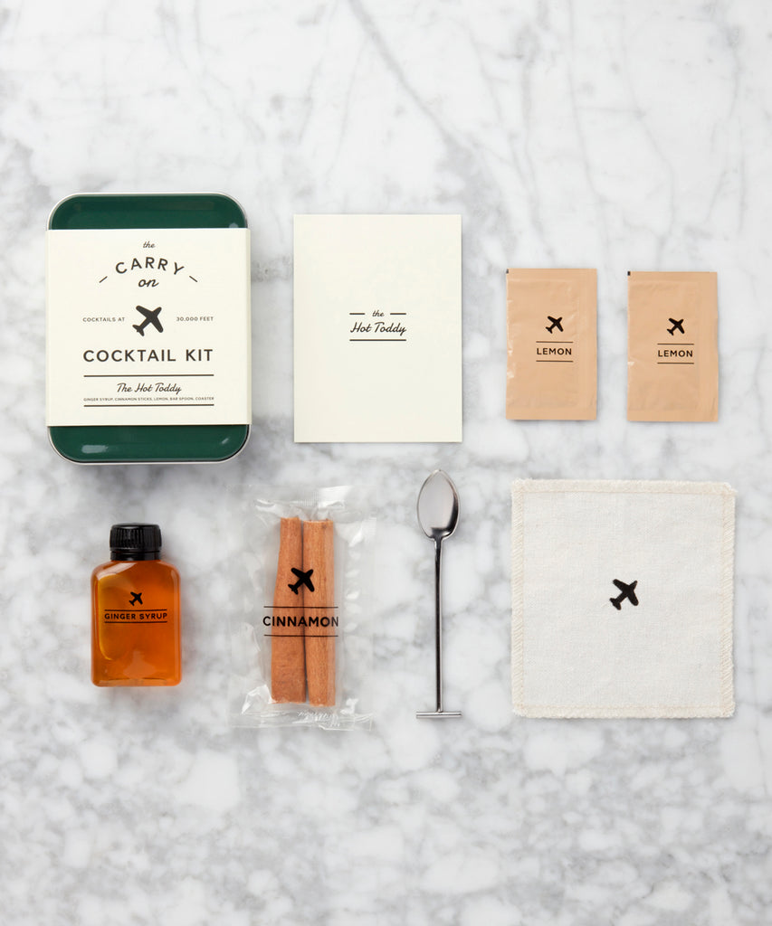 The Hot Toddy Carry on Cocktail Kit