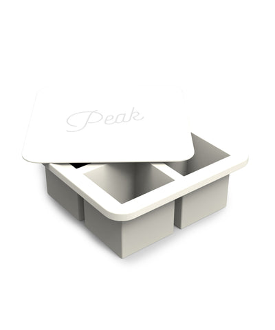 Peak Ice Cube Tray XLarge in Marble White