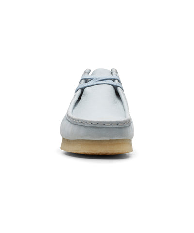 Clarks Wallabee Low Light Blue Combi