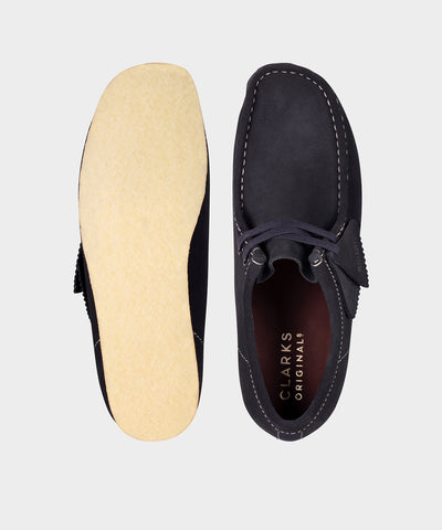 Clarks Wallabee In Ink Suede