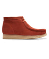 Clarks Wallabee Boot in Burnt Orange Suede