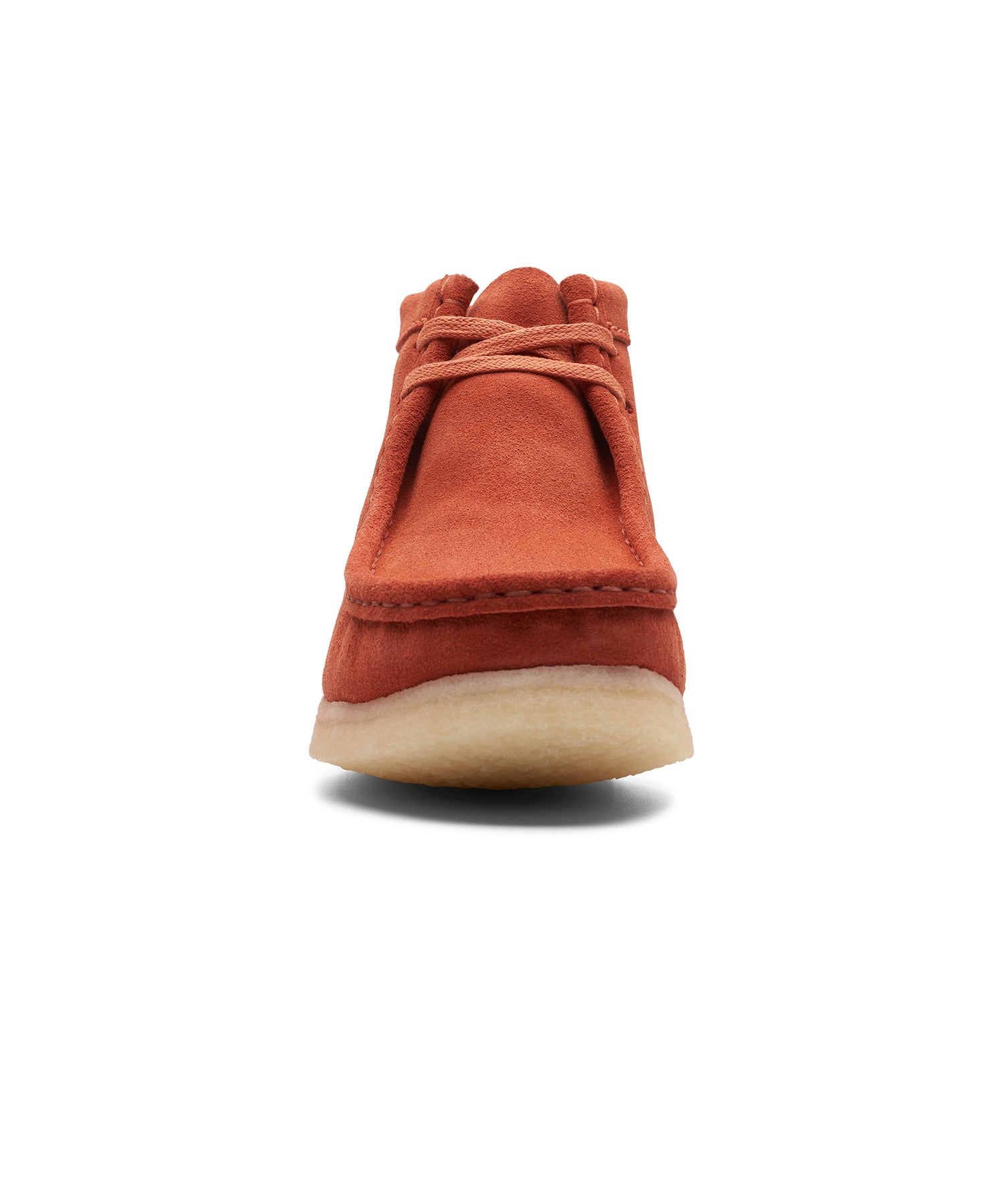 recognized brands new appearance brand new Clarks Wallabee Boot in Burnt Orange Suede - Todd Snyder