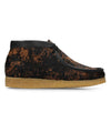 Clarks Wallabee Boot in Premium Hairy Tortoise Shell Print
