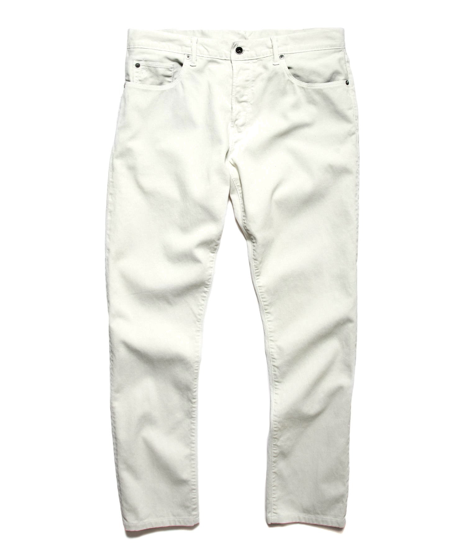 The Gerry 5-Pocket Bedford Cord in Off White