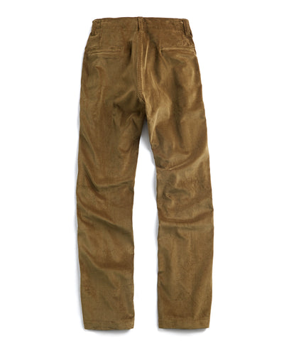 E. Tautz Core Field Corduroy Trouser in Green