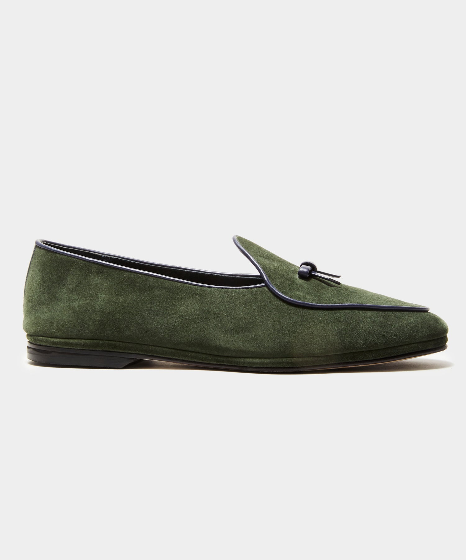 TS x Rubinacci Exclusive Marphy Loafer Velour in Racing Green