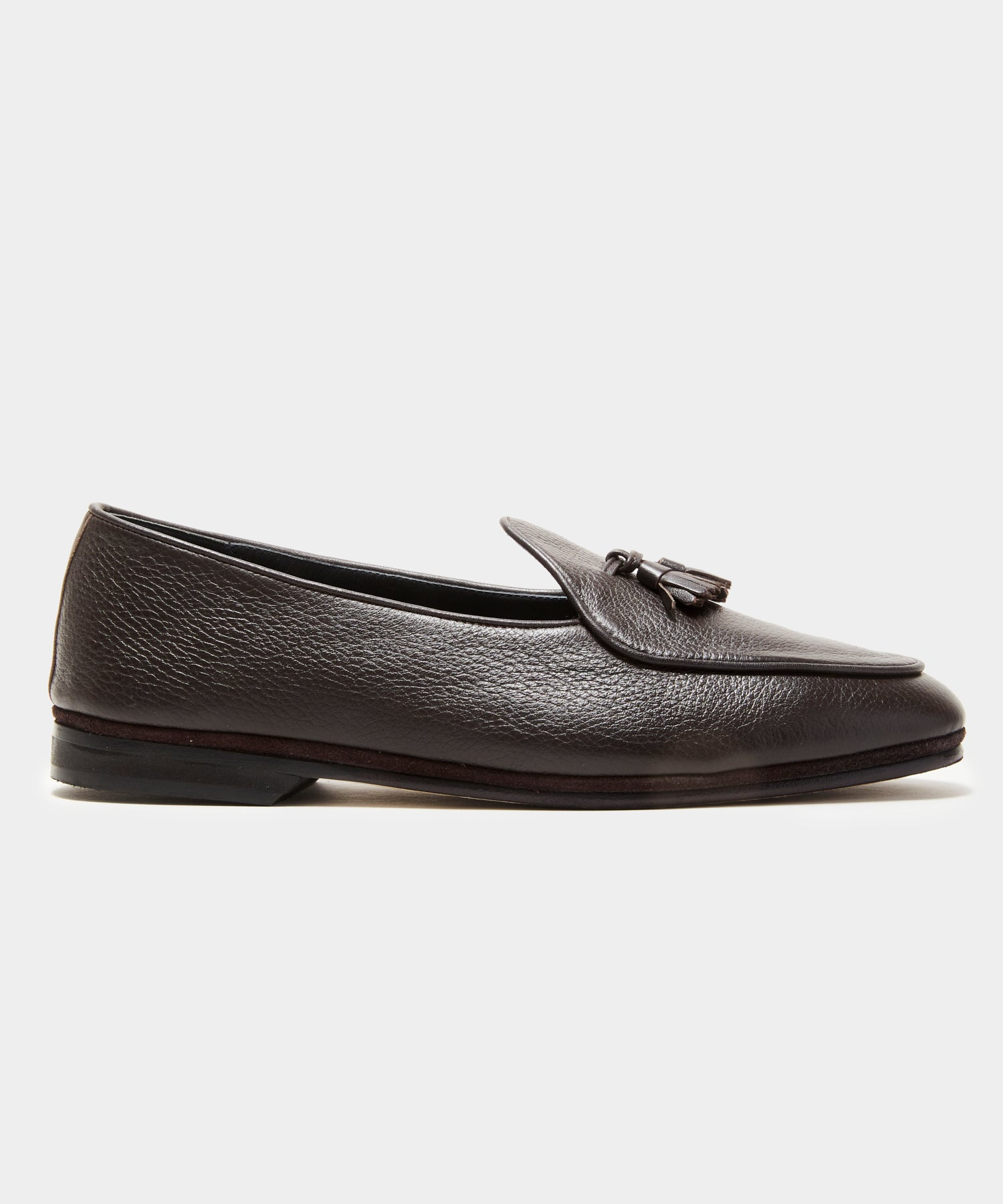 TS x Rubinacci Marphy Loafer Deer Leather in Brown