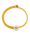 Scosha Signature 4MM Bracelet in Silver and Mimosa