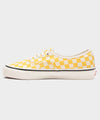 VANS ANAHEIM FACTORY AUTHENTIC 44 DX in YELLOW CHECKERBOARD