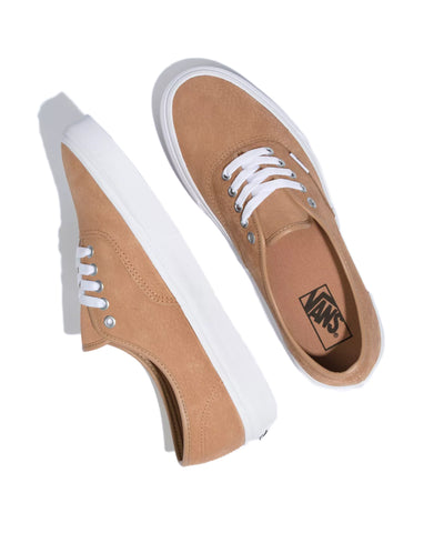 Vans OS Grain Leather Authentic in Camel