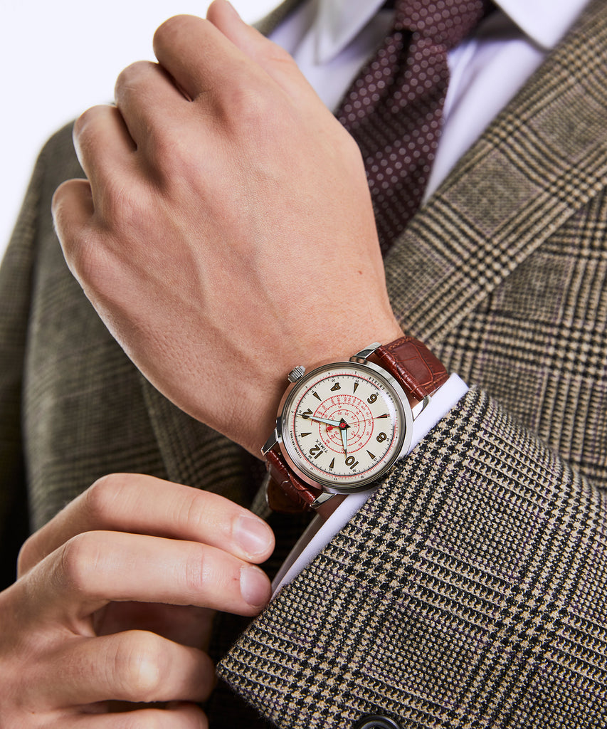 Timex + Todd Snyder Beekman Watch in Brown
