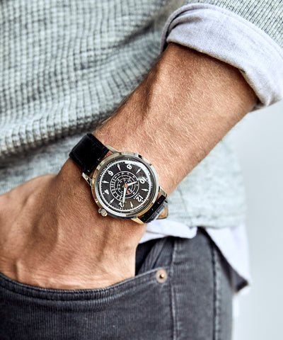 Timex + Todd Snyder Beekman Watch in Black 40mm