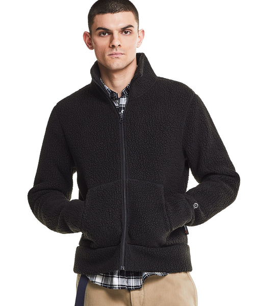 Polartec Fullzip Jacket in Black