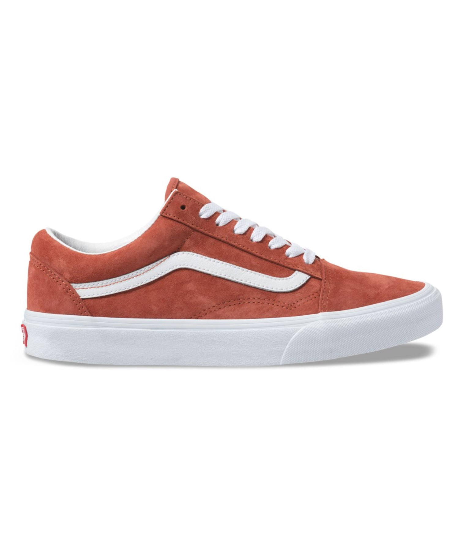 Vans Pig Suede Old Skool in Burnt Brick