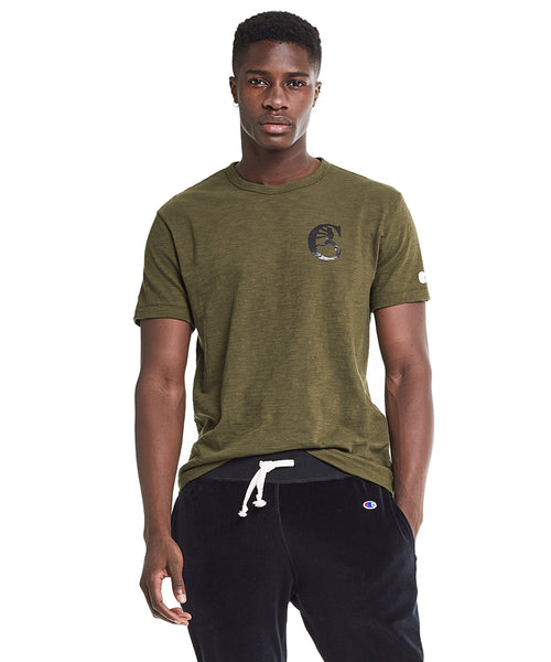 Champion Graphic in Military Olive