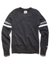 Stripe Raglan Sweatshirt in Black