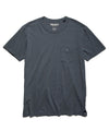 Made in L.A. Slub Jersey Pocket T-Shirt in Graphite
