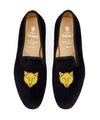 Tricker's Fox Churchill Velvet Slipper