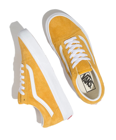 Vans Pig Suede Old Skool in Mango Mojito