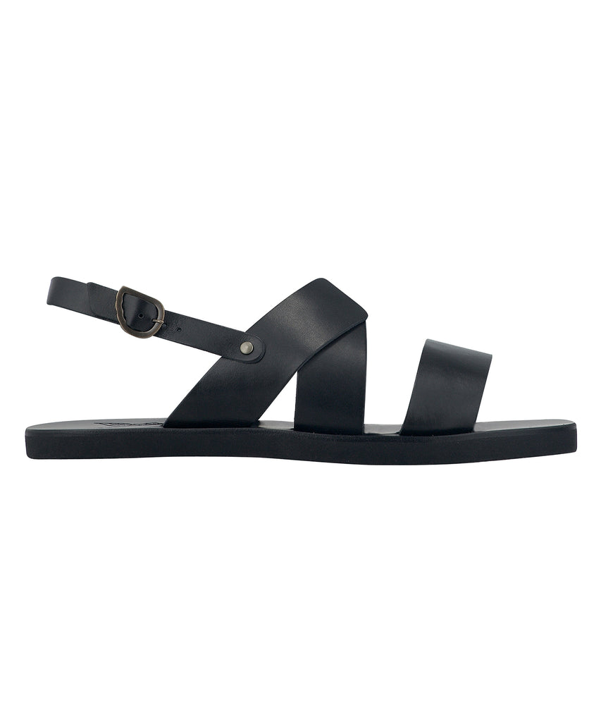 540bf2969 Ancient Greek Sandals Miltos Leather Beach Sandal in Black