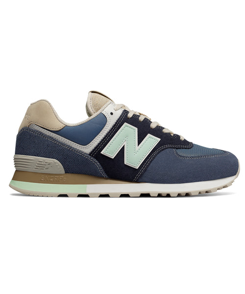 New Balance 574 Retro Surf In Blue