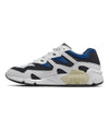 New Balance 850 in White with Classic Blue