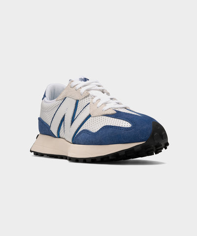 New Balance 327 in White & Blue