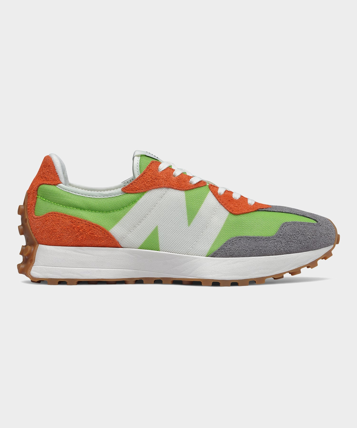 New Balance 327 in Lime