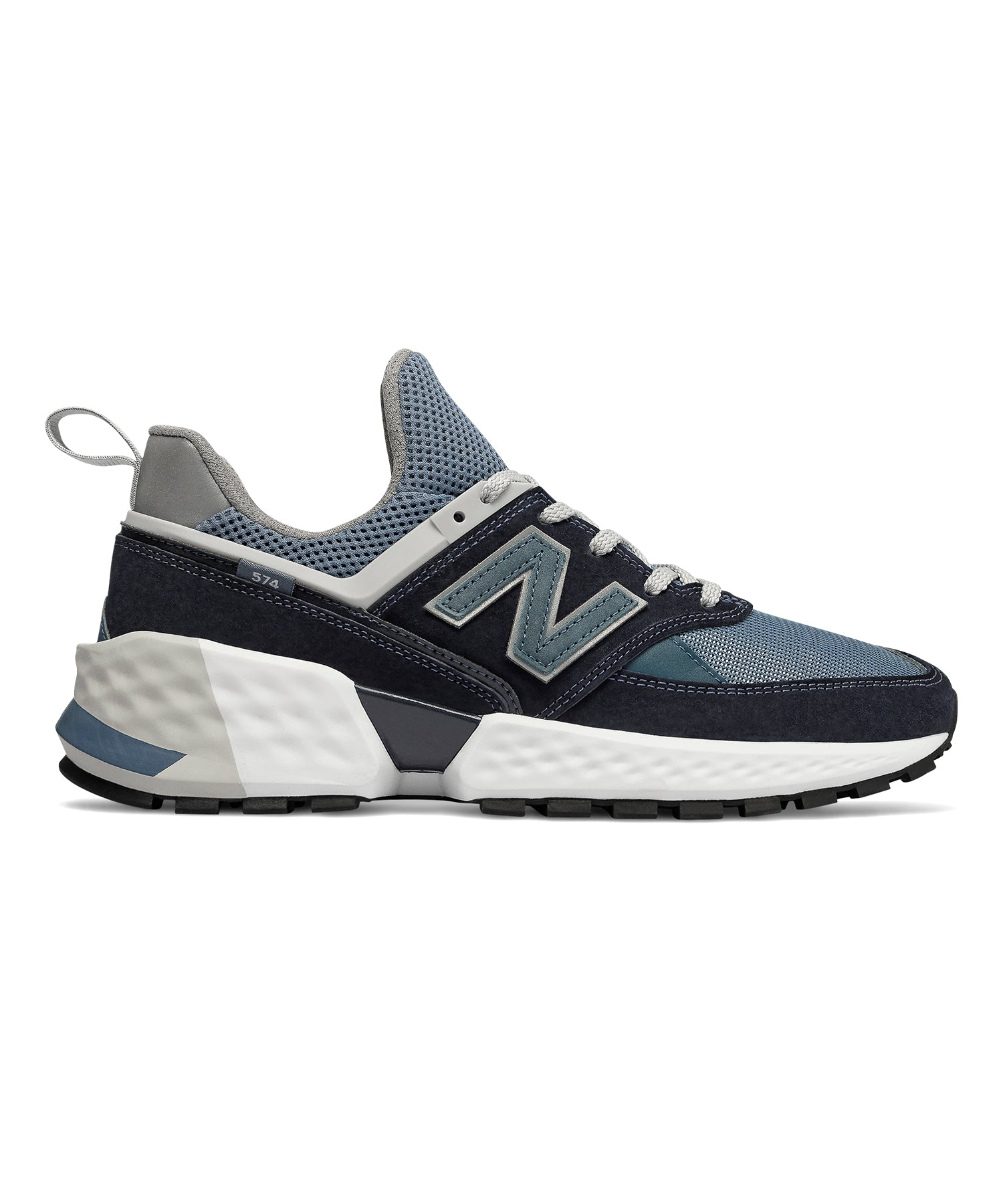 detailed look 9b790 341dc New Balance 574 Sport Dark Navy with Agean Blue