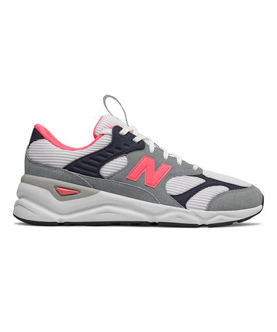 New Balance X90 Grey with Pink