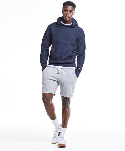 Heavyweight Popover Hoodie Sweatshirt in Navy