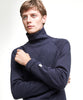 Turtleneck Sweatshirt in Navy Alternate Image