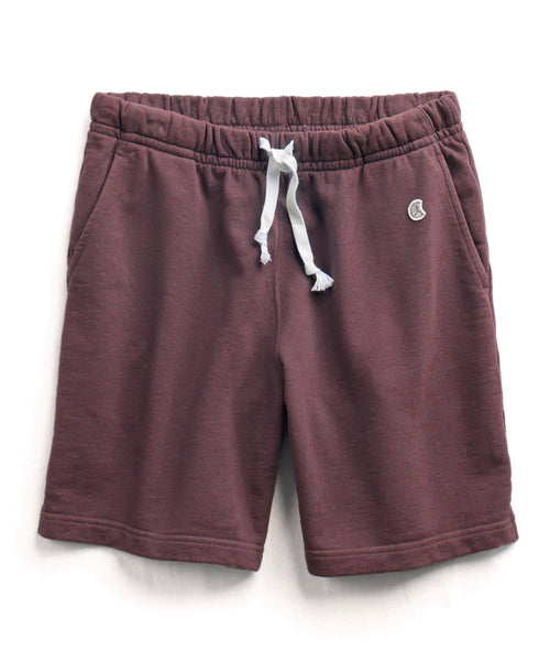 The Warm Up Short in Plum
