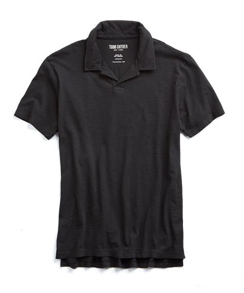 Made in L.A. Montauk Polo in Black