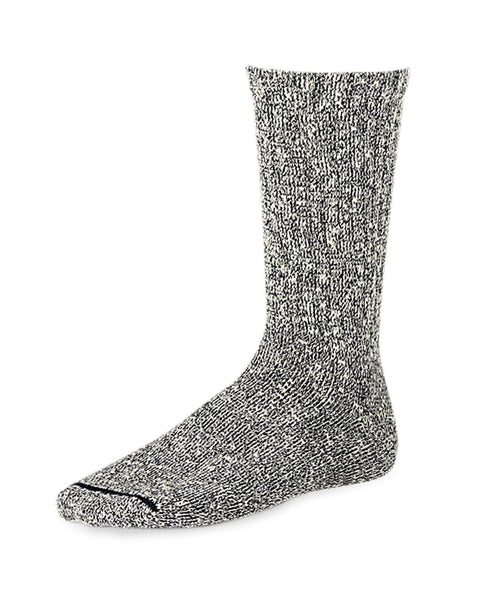 Red Wing Cotton Rag Socks in Black