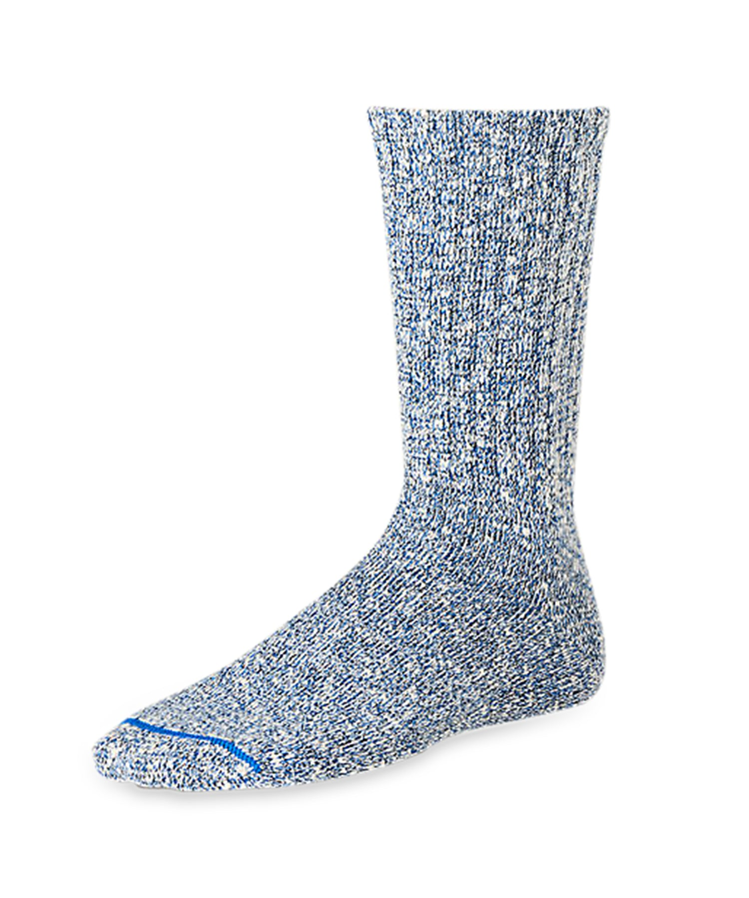 Red Wing Cotton Rag Socks in Blue