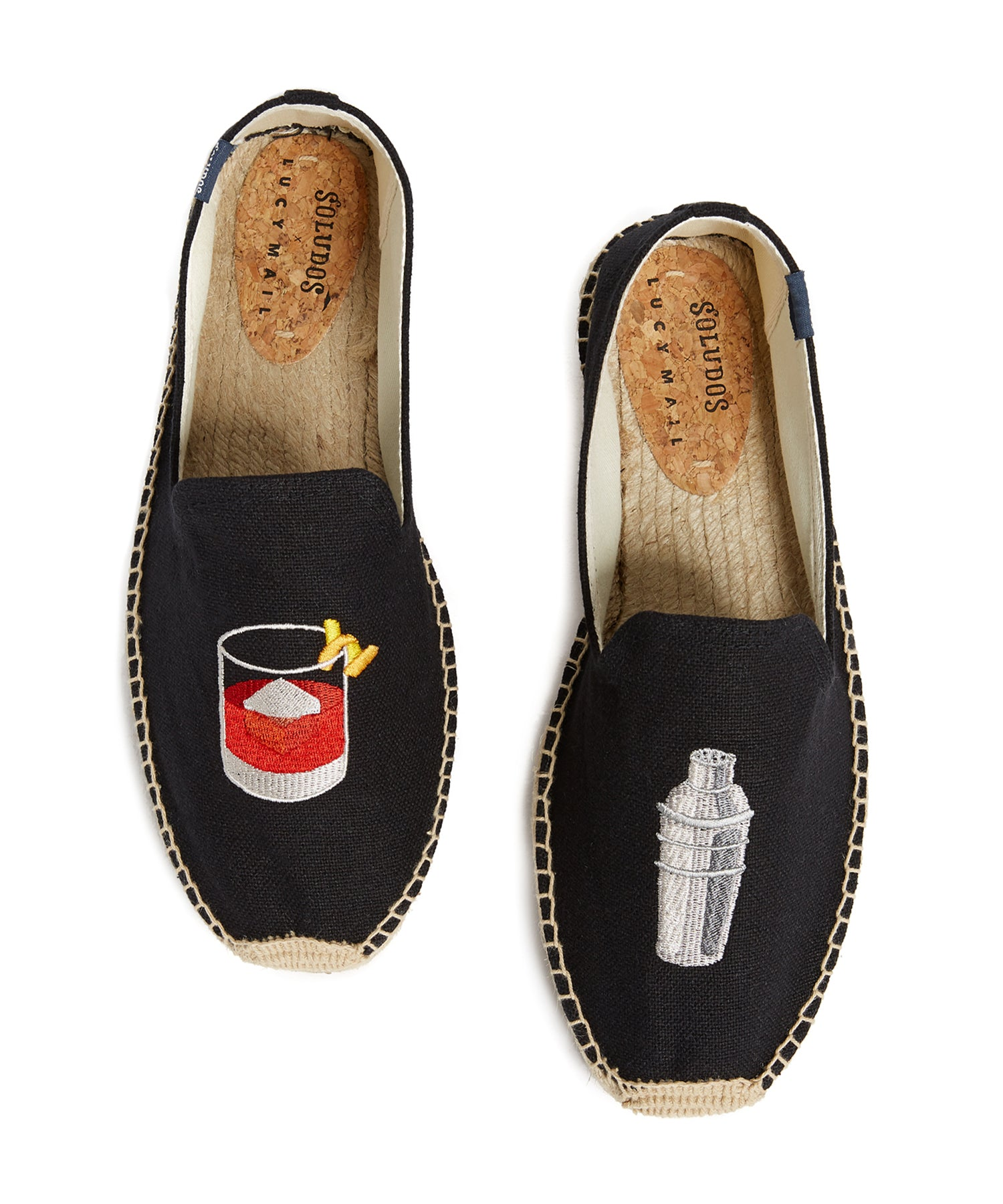 Soludos Negroni Smoking Slipper