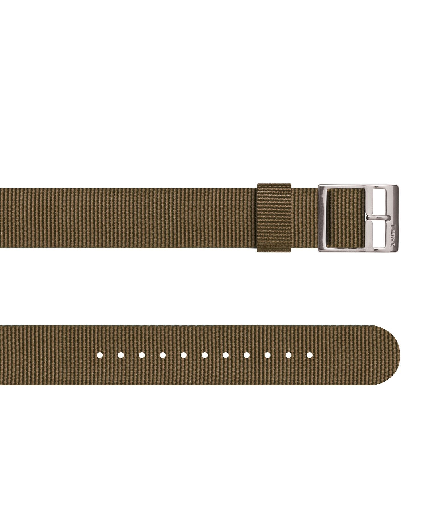 Timex Watch Strap in Olive Nylon