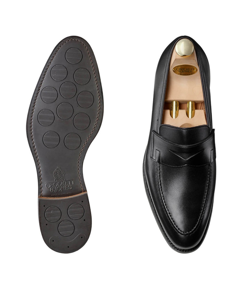 Crockett and Jones Sydney City Sole In Black