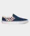 Vans Washed Classic Slip-on in Dress Blues