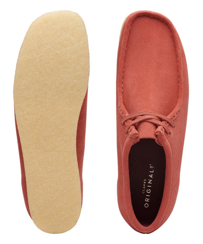 Clarks Wallabee in Clay Suede