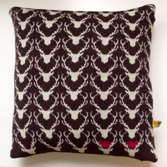 Brown Stag Cushion (was £75 now £35)