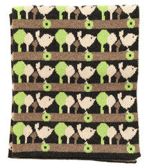Grey Bird in Woods Blanket (was £70)