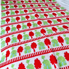 Christmas Colours Blanket (was £70)