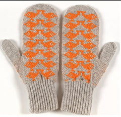 Grey Birdie Mitts (was £28 now £15)