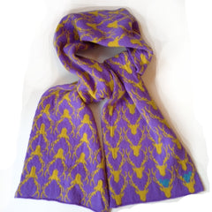 Purple Stag Scarf (was £42 now £30)