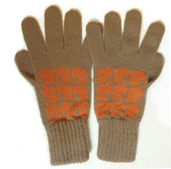 Orange House Glove