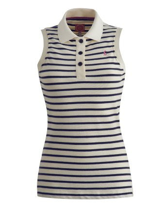 Joules Cheeky Navy Stripe -Ladies